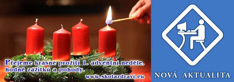 Čas Adventu začíná – 1. neděle