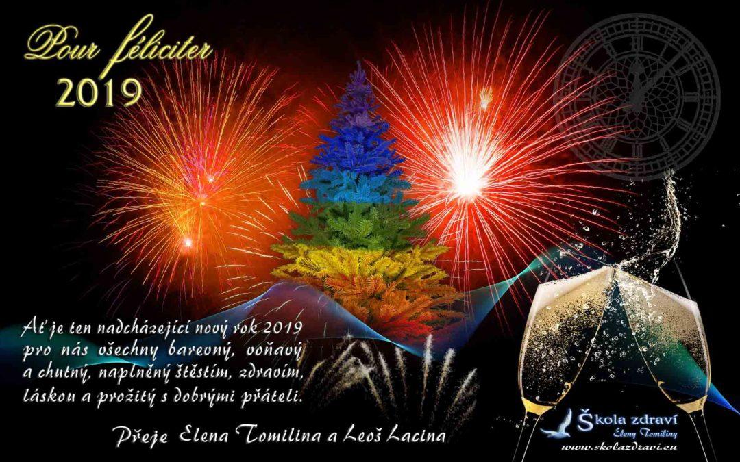 Silvestr a přání do nového roku 2019