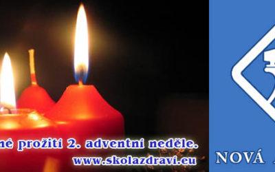 Čas Adventu – 2. neděle, připravujeme nové stránky