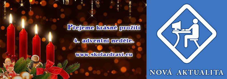 Adventní 4. neděle – předvečer Vánoc