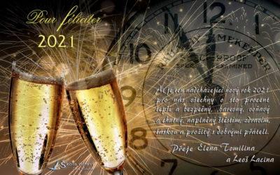 Silvestr a přání do nového roku 2021