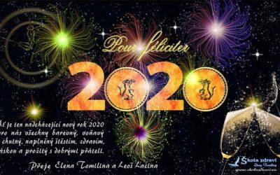 Silvestr a přání do nového roku 2020