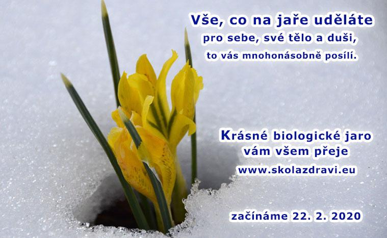 Začalo biologické jaro, svátek pro tělo a duši.
