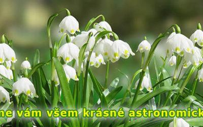 Začíná astronomické jaro a svátek slaví Josefové